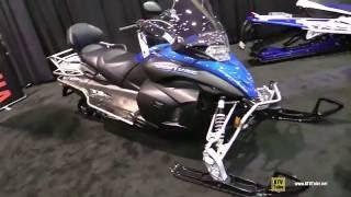 6. 2016 Yamaha Venture Multi Purpose Sled - Walkaround - 2015 St Hyacinthe ATV Show