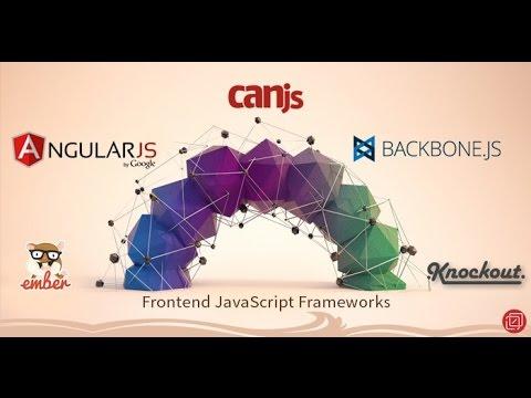 Top 5 Javascript Frameworks for Web and Mobile App Development (видео)