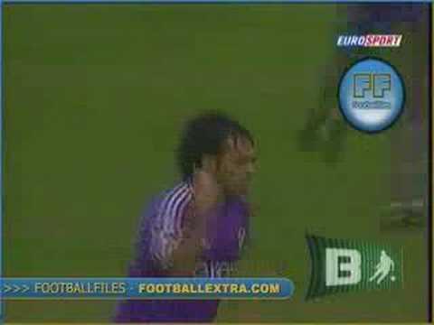 Golazo de Fabrizio Miccoli con la Fiorentina