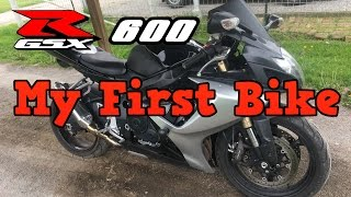 7. My First Bike - 2006 GSXR 600 (Review)