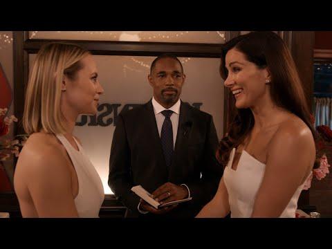 Maya and Carina Get Married - Station 19