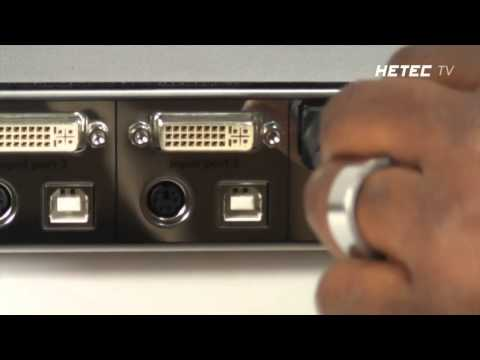 HDMI/DVI/VGA Quad Screen Splitter with Real Time Multiviewer and Quad KVM Switch