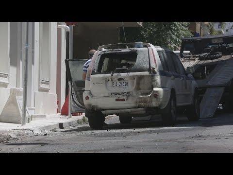 Επίθεση με μολότοφ έξω από το σπίτι του Αλ. Φλαμπουράρη