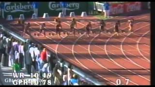 女子100m世界歴代10傑