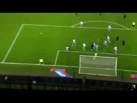 inter - lazio 21/12/2014 goal kovacic