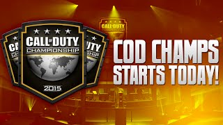 Cod Champs Starts TODAY