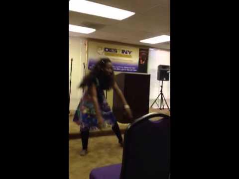 Praise Dance to Godfrey Birtill's 'Raise Him' performed for