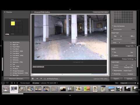 Interaktywne galerie w Lightroomie - szybko, prosto i przyjemnie - poradnik wideo