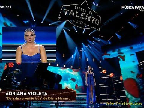 Desafío de Adriana Violeta en Tierra de Talento (Canal Sur TV)