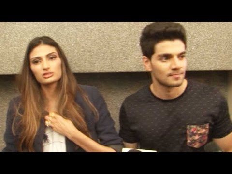 Athiya Shetty And Sooraj Pancholi Share The Lesson