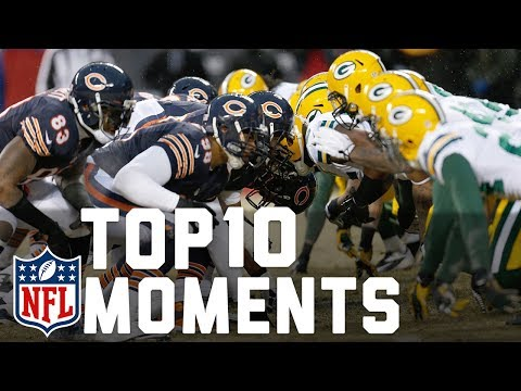 Video: Packers vs. Bears Top 10 Moments | NFL Highlights