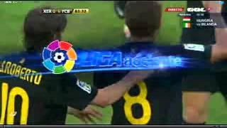 barcelona b 4-0 xerez CD