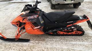 8. 2017 Arctic Cat Sno Pro 8000 ZR Limited Snowmobile