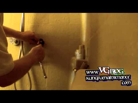 How To Replace Water Dripping Shower Tub Cartridge Determine Whether Hot Or Cold Side Is Leaking