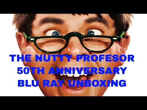 THE NUTTY PROFESSOR 50TH ANNIVERSARY COLLECTORS EDITION BLU RAY UNBOXING