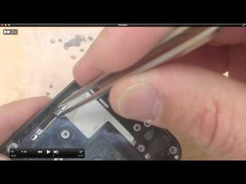 iPhone 5 Teardown Back Gold housing conversion / Color Swap