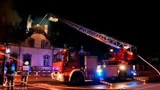 Film do artykułu: Groźny pożar w Kluczborku....