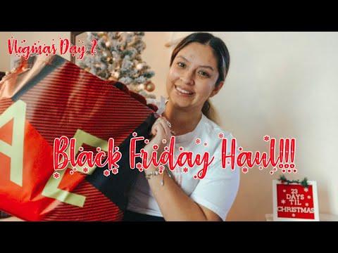 BLACK FRIDAY HAUL   CHIT CHAT   VLOGMAS DAY 2