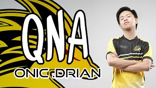 Video QNA WITH DRIAND - ONIC ESPORTS MP3, 3GP, MP4, WEBM, AVI, FLV Desember 2018