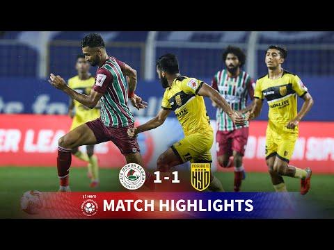 Highlights - ATK Mohun Bagan 1-1 Hyderabad FC - Match 24   Hero ISL 2020-21