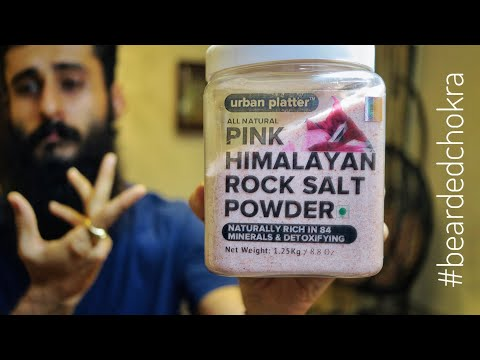 Pink Himalayan Salt - My Take | Bearded Chokra видео