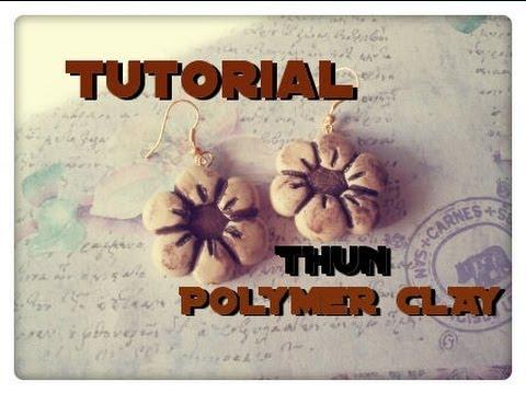 tutorial fimo - orecchini stile thun