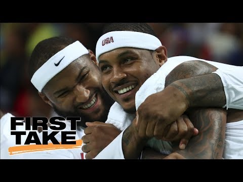 Stephen A. Declares Carmelo Anthony On Pelicans Would Be A 'Disaster' | First Take | ESPN