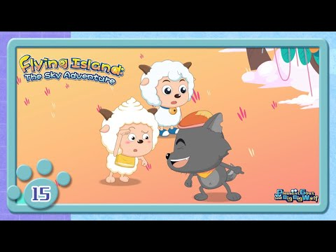Wolffy's True Colours   Adventure cartoon   for kids   EP15   funny   Pleasant goat and big big wolf