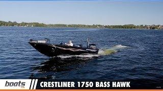 Join boats.com Senior Editor Lenny Rudow as he gives us a tour of the new Crestliner 1750 Bass Hawk in our Video Boat Review. This bass fishing boat has raised casting decks forward and aft, along with a 28 gallon livewell and a rod box with capacity to hold up to 15 rods.RELATED VIDEOS & PLAYLISTS:2013 Crestliner 1850 Super Hawk Fish and Ski Boat - https://youtu.be/L_V5XoGNkjkCrestliner 1750 Fish Hawk - https://youtu.be/JrCavpocnFoCrestliner 1650 Fish Hawk Aluminum Fishing Boat - https://youtu.be/38eC00gZ6VsBoat Review / Performance Test - https://www.youtube.com/playlist?list=PL05F14609E2F696DFFishing Boats - https://www.youtube.com/playlist?list=PLsiC-0C78AkH98TOo1_IrmbbP1KnR3uBGSubscribe to our boats.com channel: https://www.youtube.com/user/boatsdotcomFor more boating videos, visit http://www.boats.com.boats.com features boat reviews, how-to videos, special features, and information about new boats, boats for sale, and boating products—usually with a dash of fun.Our reviewers test the features, performance, and specifications of each boat, searching out the hidden details for a critical evaluation. If you're shopping for a boat, we want to help you make the best choice. And if you're just looking, we'll try to make it fun too. Subscribe to receive notification of new videos.