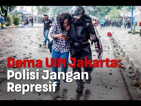 Dema UIN Jakarta: Polisi Jangan Represif