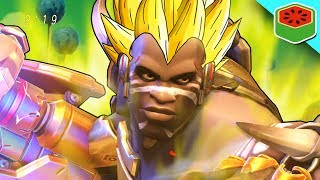 Time to crank the gameplay over 9000 with Super Saiyan Doomfist!Become Awesome: http://bit.ly/SubscribeMrFruitReddit Thread: https://www.reddit.com/r/Overwatch/comments/6mts2b/super_saiyan_mode_a_new_way_to_use_doomfist/★ WATCH MORE ★Mei Protec: https://www.youtube.com/watch?v=XiuxU_BnrxM★ CONNECT WITH ME ★Twitter: https://twitter.com/MrFruitYTTwitch: http://www.twitch.tv/MyMisterFruitInstagram: https://instagram.com/mrfruitgaming/★ PEOPLE IN THIS VIDEO ★Rhabby_V: http://www.twitch.tv/Rhabby_VBlueWestlo: http://www.youtube.com/BlueWestlo★ SEND ME SOMETHING ★Mr. Fruit PO Box 1163Castle Rock CO 80104★ MUSIC ★Outro Song:'Chiptune Does Dubstep' by Teknoaxehttp://www.youtube.com/watch?v=YuH9H1lntTgLicense: Royalty Free===============SUPER SAIYAN  Overwatch Custom Game