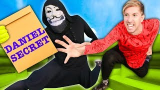 SPY NINJAS vs HACKER PZ9! Competing in World's Largest Obstacle Course Bounce House to Reveal Daniel