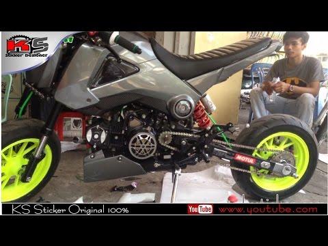 Honda MSX125 Modified Full | MSX rim style in cambodia