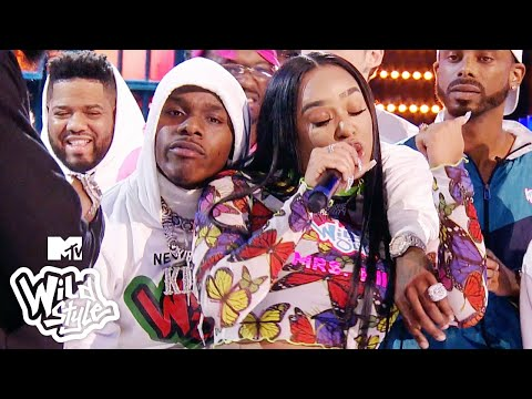 DaBaby & B. Simone Hold Each Other Down During This 🔥 Wildstyle Battle   Wild 'N Out