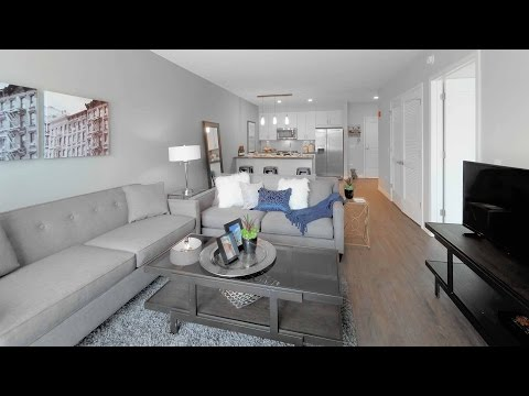 A spacious 1-bedroom model in downtown Oak Park at The Emerson
