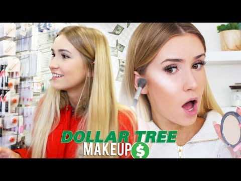 FULL FACE USING ONLY DOLLAR TREE PRODUCTS!!