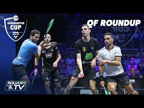 Squash: Grasshopper Cup 2019 - Quarter Final Roundup