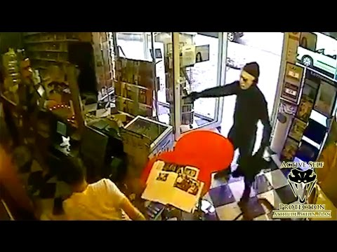 Video Shop Owner Uses Trained Attack Dog to Thwart Armed Robber | Active Self Protection download in MP3, 3GP, MP4, WEBM, AVI, FLV January 2017