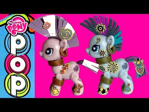 Little - Disneycollector presents My Little Pony Zecora Style kit. Build your own pony with this Kit. It has a Zecora pony body you can snap together. Then you can decide which tail to put on her and...