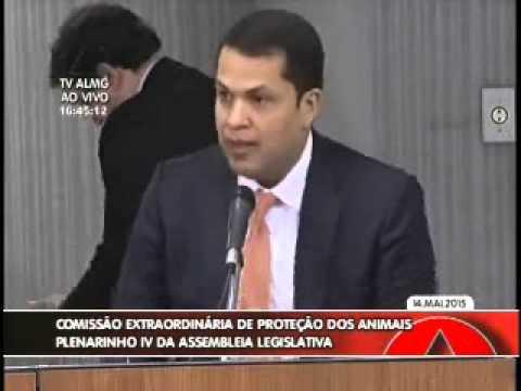 Deputado participa de reunião na Comissão de Proteção e Defesa dos Animais, na ALMG