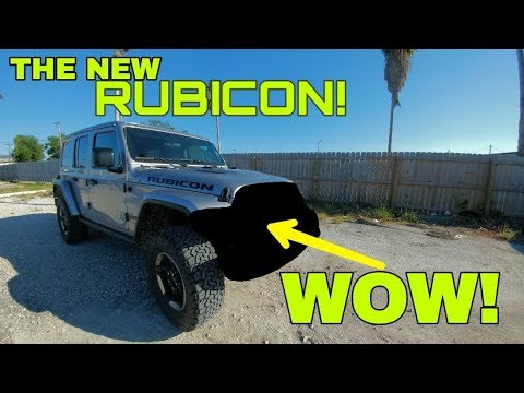 2018 JEEP JL RUBICON! Check Out What They've Done!