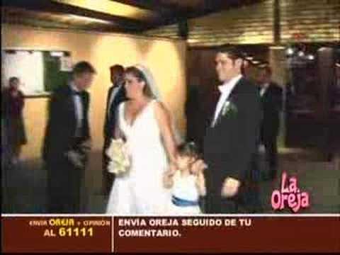 La boda de la hermana de Anahi (RBD)
