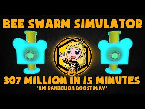 [NEW] 307 MILLION HONEY IN 15 MINUTES! - BOOST PLAY - BEE SWARM SIMULATOR