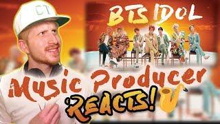 Video Music Producer Reacts to BTS (방탄소년단) 'IDOL' Official MV MP3, 3GP, MP4, WEBM, AVI, FLV November 2018