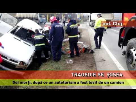Accident mortal, pe un drum din județul Cluj