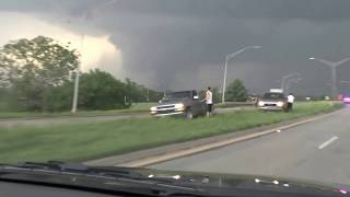 Large Tornado near Shawnee, OK 19th May 2013