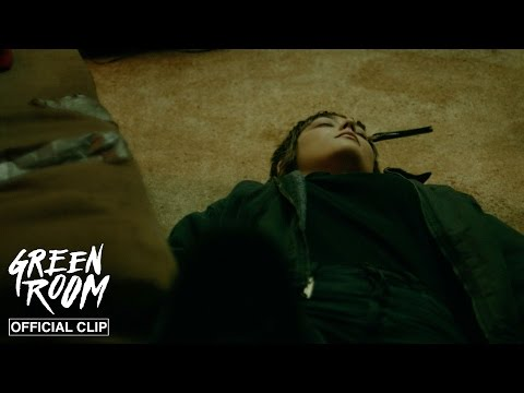 Green Room (Clip 'First Drop of Blood')