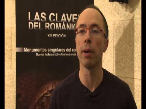 """Inauguración XIII Curso """"Las Claves del Románico"""", Fundación Santa María la Real."""
