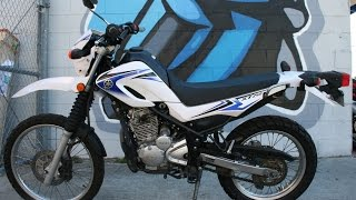 8. 2011 Yamaha XT250 ...Great Light Weight Dual Sport!