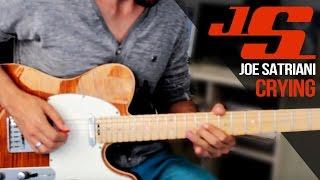 Joe Satriani - Cryin\' - Aula de guitarra com Dimas Andrade